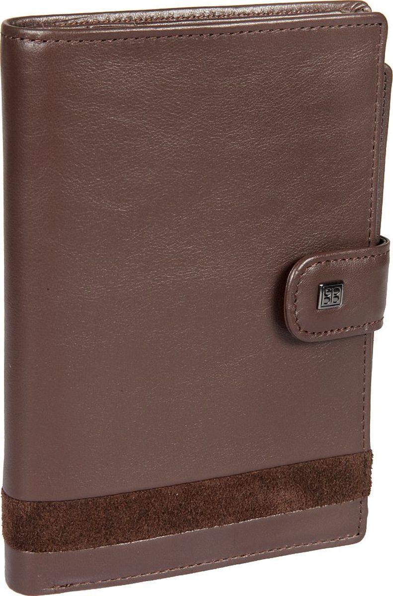 Портмоне мужское Sergio Belotti, цвет: коричневый. 23342334 novara cioccolatoПортмоне женское Sergio Belotti выполнено из натуральной кожи. Модель закрывается клапаном на кнопке. Внутри два отделения для купюр, потайной карман на молнии, одиннадцать кармашков для пластиковых карт, один из них в сеточку, шесть кармашков для документов, обложка для паспорта. На внутренней стороне обложки три кармашка для документов.