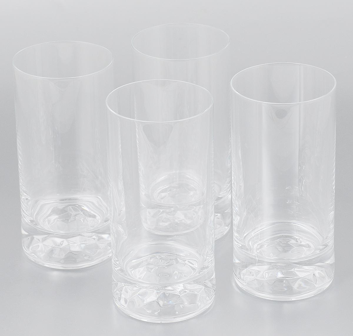 Набор стаканов Pasabahce Club, 420 мл, 4 шт64042NНабор Pasabahce Club состоит из 4 высоких стаканов, выполненных из бессвинцового стекла. Стильный лаконичный дизайн, роскошный внешний вид и несравненное качество сделают их великолепным украшением стола. Подходят для мытья в посудомоечной машине. Диаметр (по верхнему краю): 7 см. Высота стакана: 15 см.
