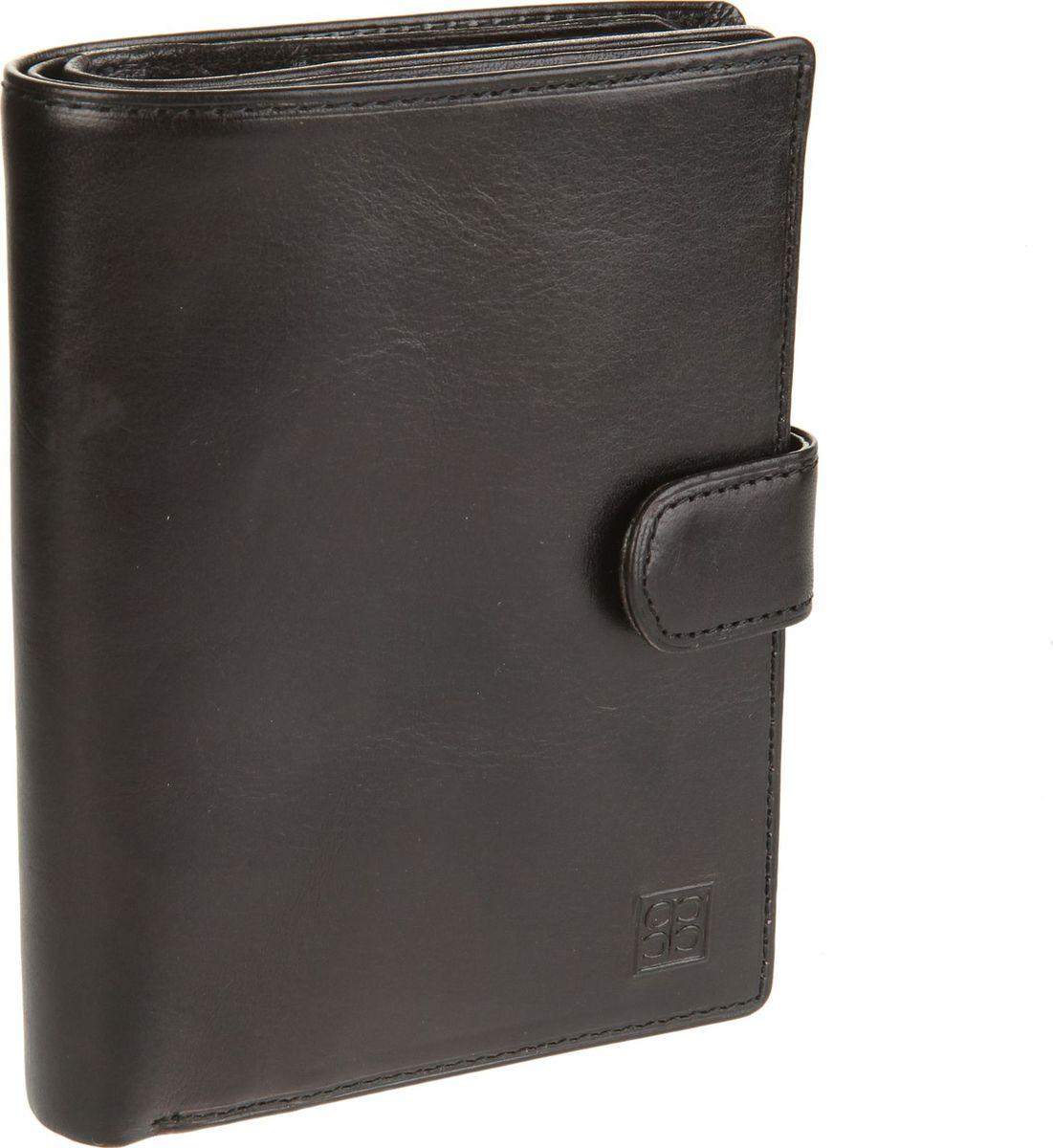 Портмоне мужское Sergio Belotti, цвет: черный. 2242m2242 milano blackзакрывается клапаном на кнопке внутри блок прозрачных файлов (шесть листов, один из них формата А5) для автодокументов (водительского удостоверения, техпаспорта, талон ТО, доверенности и т.п.) отделение для паспорта (пластиковая вставка) пять кармашков для пластиковых карт три потайных кармашка отделение для купюр