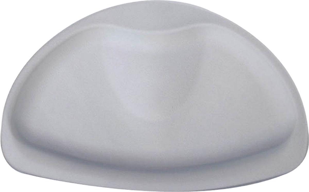 Подушка для ванны Ridder Tecno+, цвет: серый, 20 х 30 смА6800607Высококачественный немецкий подголовник Tecno+ создан для вашего удобства. Он изготовлен из синтетического каучука с защитой от плесени и грибка, не содержит ПВХ, имеет присоски для крепления. Безопасность изделия соответствует стандартам LGA (Германия).