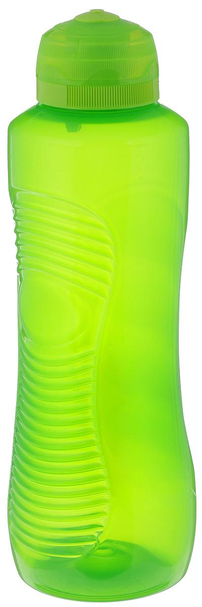 Бутылка для воды Sistema Twist n Sip, цвет: салатовый, 800 мл850_салатовыйСтильная бутылка для воды Sistema Twist n Sip, изготовленная из пластика, оснащена крышкой, которая плотно и герметично закрывается. Широкое отверстие позволяет удобно наливать жидкость и добавлять лед. Бутылка оснащена просто открывающимся и, в то же время, надежным защитным клапаном. Подходит для велосипедных держателей.