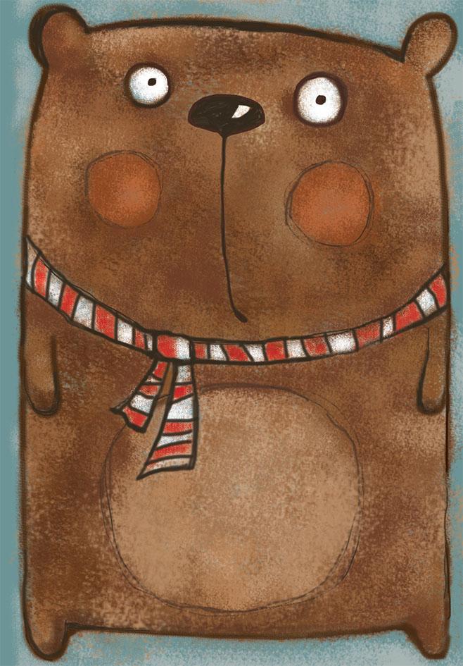 Marker Тетрадь Медведь 40 листов в клеткуM-1130540N-1Общая тетрадь с дизайнерской обложкой и прошитая шелковой нитью