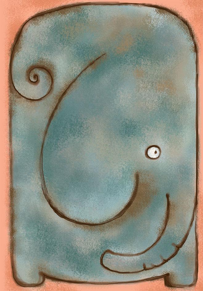Marker Тетрадь Слон 40 листов в клеткуM-1130540N-2Общая тетрадь с дизайнерской обложкой и прошитая шелковой нитью