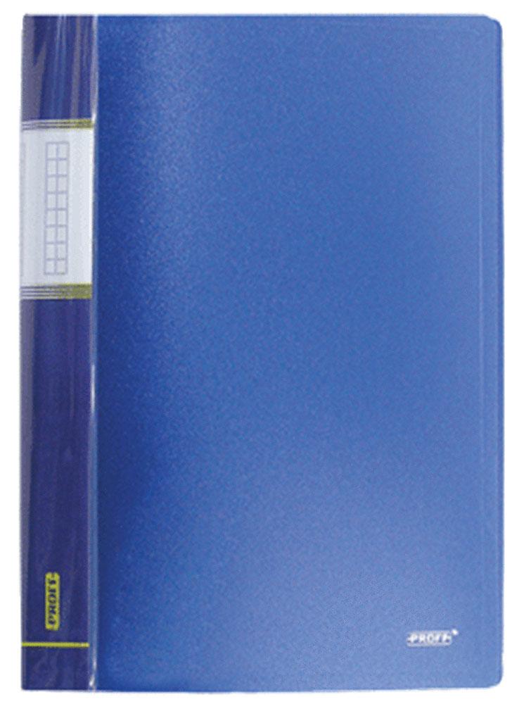 Proff Папка Next на 10 файлов цвет синийDB10AB-04Папка с файлами Proff Next - это удобный и практичный офисный инструмент, предназначенный для хранения и транспортировки рабочих бумаг и документов формата А4. Обложка выполнена из плотного полипропилена. Папка включает в себя 10 прозрачных файлов формата А4. Папка с файлами - это незаменимый атрибут для студента, школьника, офисного работника. Такая папка надежно сохранит ваши документы и сбережет их от повреждений, пыли и влаги.