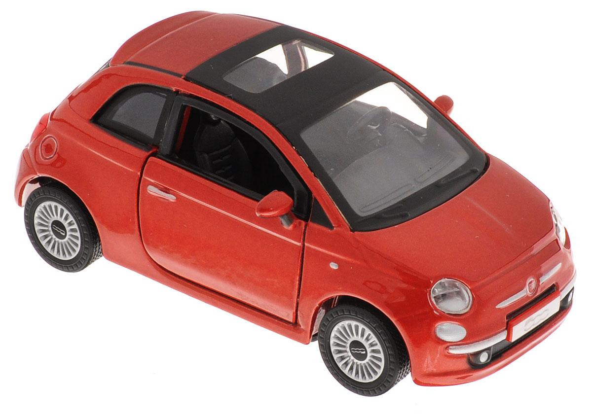 Bburago Модель автомобиля Fiat 50018-43000_красный_FiatКоллекционная модель автомобиля Bburago Fiat 500 будет отличным подарком как ребенку, так и взрослому коллекционеру. Благодаря броской внешности, а также великолепной точности, с которой создатели этой модели передали внешний вид настоящего автомобиля, машинка станет подлинным украшением любой коллекции авто. Автомобиль будет долго служить своему владельцу благодаря металлическому корпусу с элементами из пластика. Дверцы машины открываются. Шины обеспечивают отличное сцепление с любой поверхностью пола. Модель автомобиля Bburago Fiat 500 в масштабе 1:32 обязательно понравится вашему ребенку и станет достойным экспонатом любой коллекции.