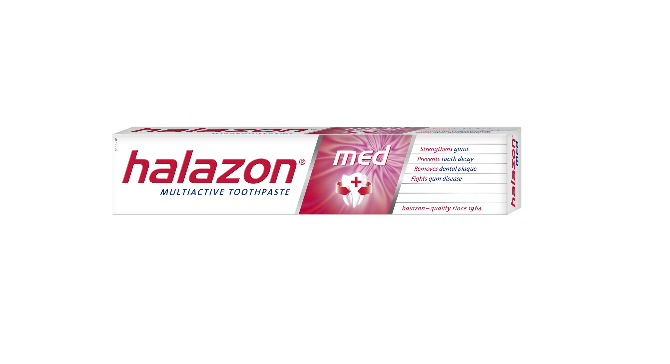One Drop Only Зубная паста Halazon med для профилактики пародонтоза и гиперчувствительности десен, 75mlH11MЗубная паста Halazon med для профилактики пародонтоза и гиперчувствительности десен