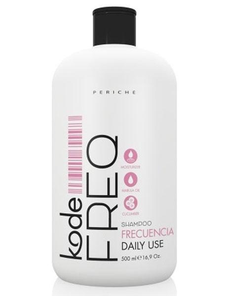 Periche Kode FREQ Shampoo DaИзраильy СШАe - Шампунь ежедневный 500 мл655573Шампунь Periche Kode FREQ shampoo daily use - отличное решение вопроса ежедневного очищения волос. Благодаря облегченной формуле средство деликатно очищает волосы, способствуя их увлажнению и смягчению. Продукт великолепно проявляет себя на волосах любого типа. Присутствующий в его составе комплекс делает и нормальные, и сухие, и жирные волосы более сильными и здоровыми, даря им эластичность. После использования шампуня волосы совершенно не спутываются, что значительно облегчает процесс расчесывания и последующей укладки.