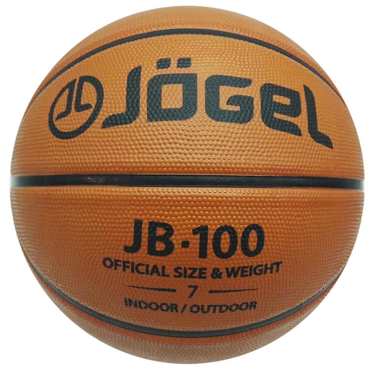 Мяч баскетбольный Jogel, цвет: коричневый. Размер 7. JB-100УТ-00009271Название: Мяч баскетбольный Jgel JB-100 №7 Уровень: Тренировочный мяч Категория: INDOOR/OUTDOOR Описание: Jogel JB-100 №7 это классический резиновый баскетбольный мяч, самая популярная модель для уличного баскетбола, учебных заведений и СДЮШ. Поверхность мяча выполнена из износостойкой резины, благодаря чему данным мячом можно играть практически на любой поверхности, как на улице, так и в зале. Благодаря технологии DeepChannel (глубокие каналы), используемой при производстве мячей Jogel, достигается лучший контроля мяча во время броска и дриблинга. Размер №7 предназначается для мужчин и юношей от 17 лет, официальный размер для соревнований мужских команд. Данный мяч рекомендован для любительской игры, тренировок любительских команд и команд среднего уровня. Данный мяч прекрасно подходит для поставок на гос. тендеры, образовательные учреждения и спортивные секции. Официальный размер и вес FIBA. Рекомендованные покрытия: Паркет, резина, бетон, асфальт Материал...