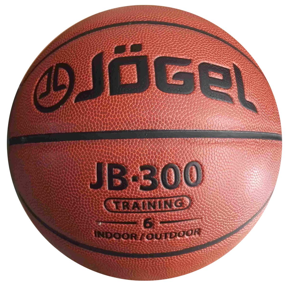 Мяч баскетбольный Jogel, цвет: коричневый. Размер 6. JB-300УТ-00009326Название: Мяч баскетбольный Jgel JB-300 №6 Уровень: Тренировочный мяч Серия: TRAINING Категория: INDOOR/OUTDOOR Описание: Jogel JB-300 №6 это прекрасный баскетбольный мяч из серии TRAINING. Доступная цена и специальный материал, позволяющий играть данным мячом практически на любой поверхности, выгодно отличают его от аналогичных мячей других марок. Поверхность мяча выполнена из композитного материала, благодаря чему данным мячом можно играть как на улице, так и в зале. Благодаря технологии DeepChannel (глубокие каналы), используемой при производстве мячей Jogel, достигается лучший контроля мяча во время броска и дриблинга. Размер №6 предназначается для женщин и юношей от 12 до 16 лет. Данный мяч рекомендован для любительской игры, тренировок и соревнований любительских команд и команд среднего уровня. Данный мяч прекрасно подходит для поставок на гос. тендеры, образовательные учреждения и спортивные секции. Официальный размер и вес FIBA. Рекомендованные покрытия: Паркет, резина,...
