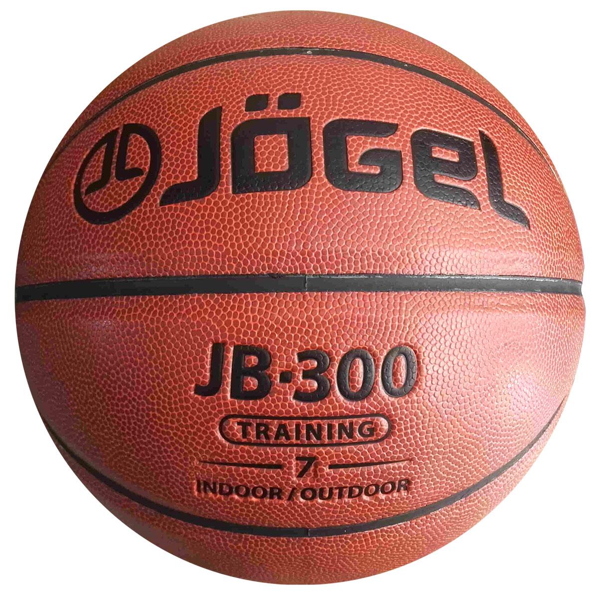 Мяч баскетбольный Jogel, цвет: коричневый. Размер 7. JB-300УТ-00009327Название: Мяч баскетбольный Jgel JB-300 №7 Уровень: Тренировочный мяч Серия: TRAINING Категория: INDOOR/OUTDOOR Описание: Jogel JB-300 №7 это прекрасный баскетбольный мяч из серии TRAINING. Доступная цена и специальный материал, позволяющий играть данным мячом практически на любой поверхности, выгодно отличают его от аналогичных мячей других марок. Поверхность мяча выполнена из композитного материала, благодаря чему данным мячом можно играть как на улице, так и в зале. Благодаря технологии DeepChannel (глубокие каналы), используемой при производстве мячей Jogel, достигается лучший контроля мяча во время броска и дриблинга. Размер №7 предназначается для мужчин и юношей от 17 лет, официальный размер для соревнований мужских команд. Данный мяч рекомендован для любительской игры, тренировок и соревнований любительских команд и команд среднего уровня. Данный мяч прекрасно подходит для поставок на гос. тендеры, образовательные учреждения и спортивные секции. Официальный размер и вес FIBA. ...