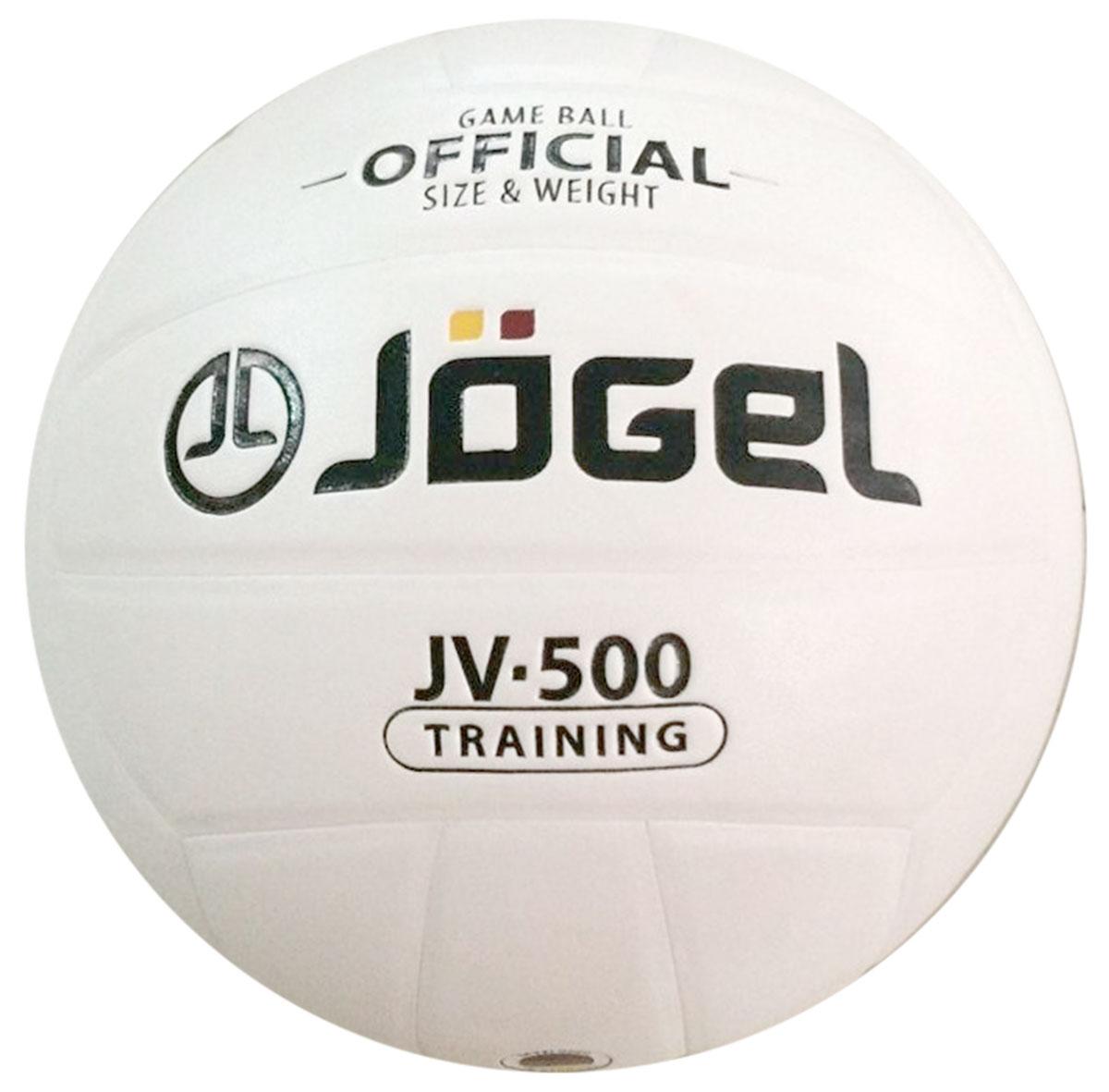 Мяч волейбольный Jogel, цвет: белый. Размер 5. JV-500УТ-00009342Название: Мяч волейбольный Jgel JV-500 Уровень: Тренировочный мяч Серия: TRAINING Описание: Jogel JV-500 клееный тренировочный мяч классической белой расцветки. Данная расцветка традиционно пользуется популярностью среди определенного круга покупателей, а также хорошо выделяется на полке магазина. Поверхность мяча выполнена из синтетической кожи (полиуретан), обладающей хорошей износостойкостью и высокими игровыми характеристиками. Мяч состоит из 18-ти панелей, оснащен бутиловой камерой и армирован подкладочным слоем из ткани. Рекомендован для любительской игры, тренировок и соревнований любительских команд и команд среднего уровня. Данный мяч идеально подходит для поставок на гос. тендеры, образовательные учреждения и спортивные секции. Официальный размер и вес FIBV. Рекомендованные покрытия: Паркет, песок, резина Материал покрышки: Синтетическая кожа (полиуретан) Материал камеры: Бутил Тип соединения панелей: Клееный Количество панелей: 18 Размер: 5 Вес: 260-280 гр. Длина...