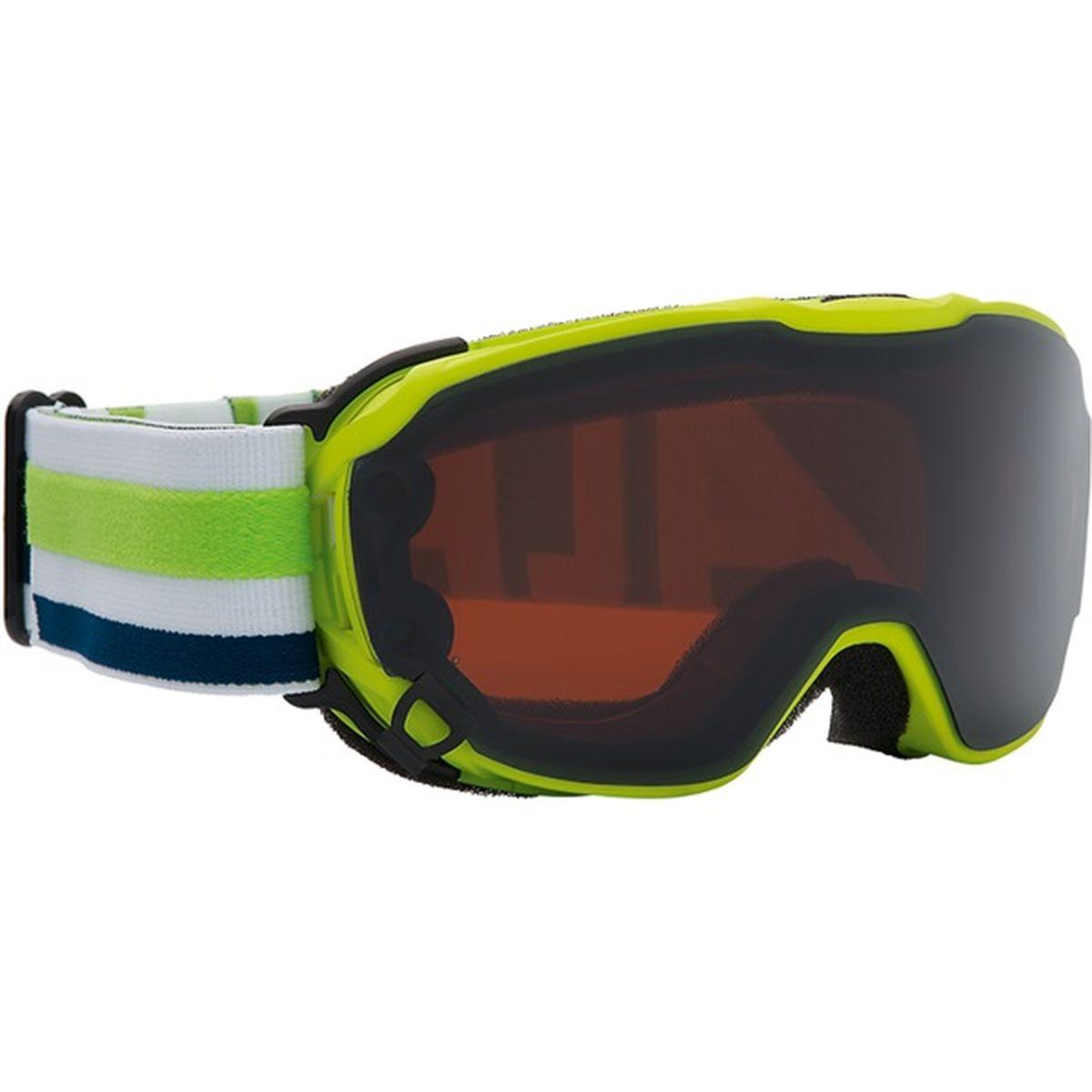 """Очки горнолыжные Alpina """"Pheos Jr."""", цвет: желтый, черный. 7238_72"""