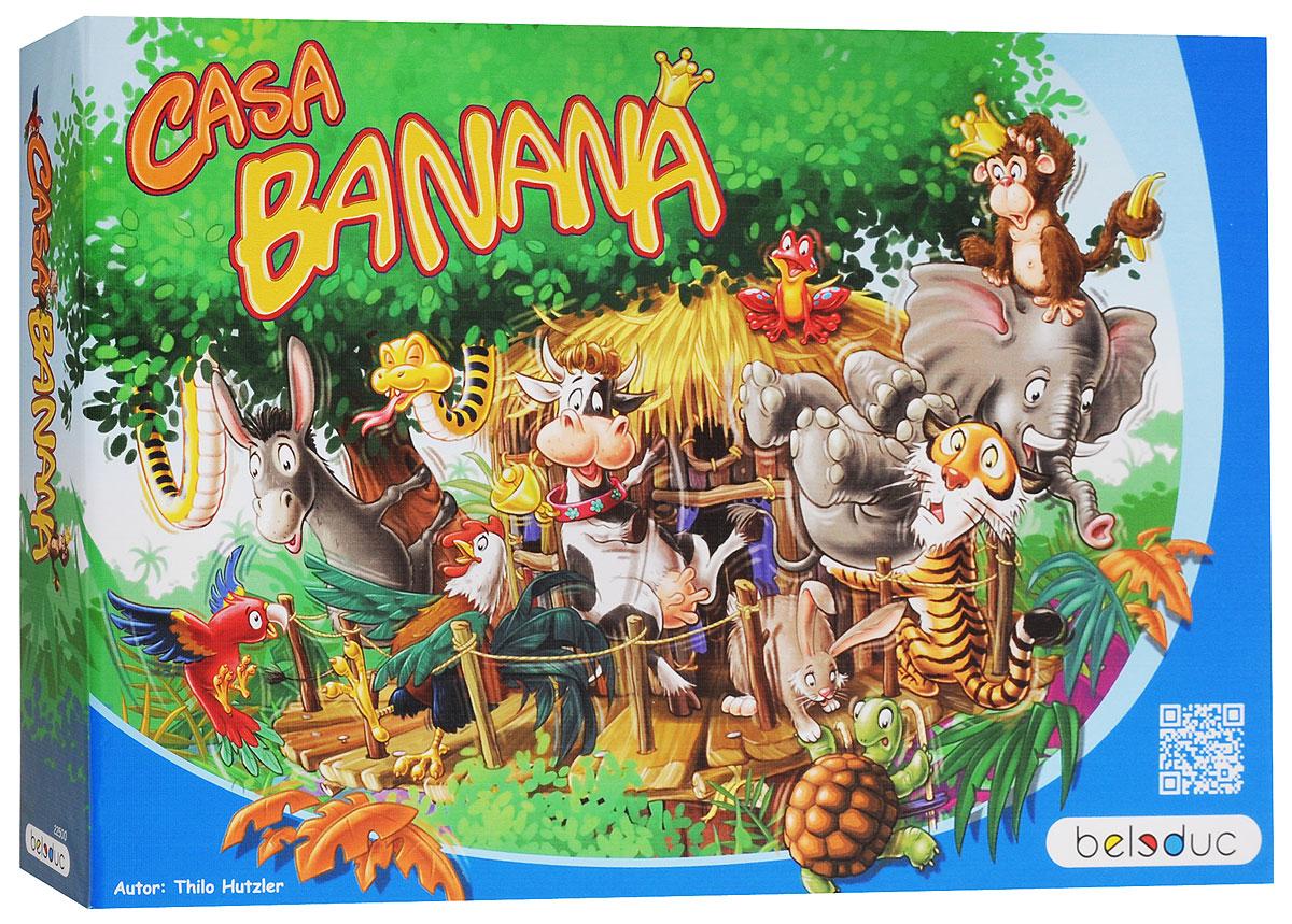 Beleduc Обучающая игра Каса Банана22500По джунглям свободно разгуливают животные! Король обезьян приглашает своих друзей-зверей со всего света на большую вечеринку в джунглях, чтобы показать им свое новое жилище. Все звери оценили доброжелательность этого приглашения и большим потоком устремились к новому домику. Наконец-то они могут прийти в гости к своему близкому другу, живущему в огромных, необъятных джунглях. Только неизвестно, сможет ли новый дом вообще выдержать столько гостей. Чем больше животных залезет в домик, тем неустойчивее становится он. Также важно выбрать правильную стратегию - как расположить как можно больше зверей в домике, чтобы он или сами звери не упали? Игра рассчитана на 2-4 игроков в возрасте от 4 лет. Продолжительность игры - 10-15 минут. Все детали обучающей игры Beleduc Каса Банана выполнены из высококачественных материалов, совершенно безопасных для маленьких детей. Игра подходит для начального развития детей, задолго до того, как они идут в школу. Игра идеально подходит для...