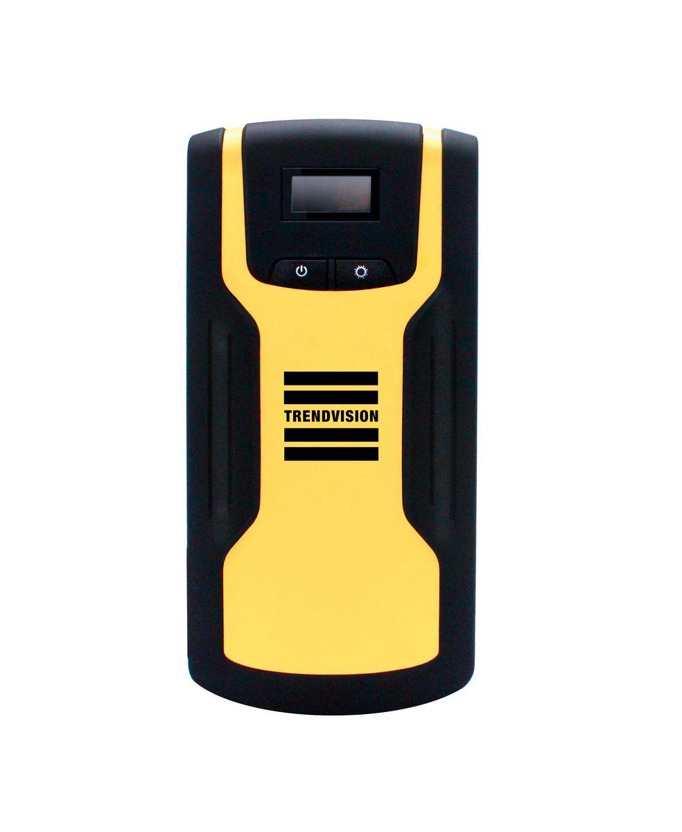 Пуско-зарядное устройство TrendVision Start 18000, многофункциональноеTVS180Устройство позволяет запустить двигатель автомобиля, когда штатный аккумулятор не может с этим справиться. Также TrendVision Start 18000 зарядит Ваш планшет, смартфон, фото и видео аппаратуру