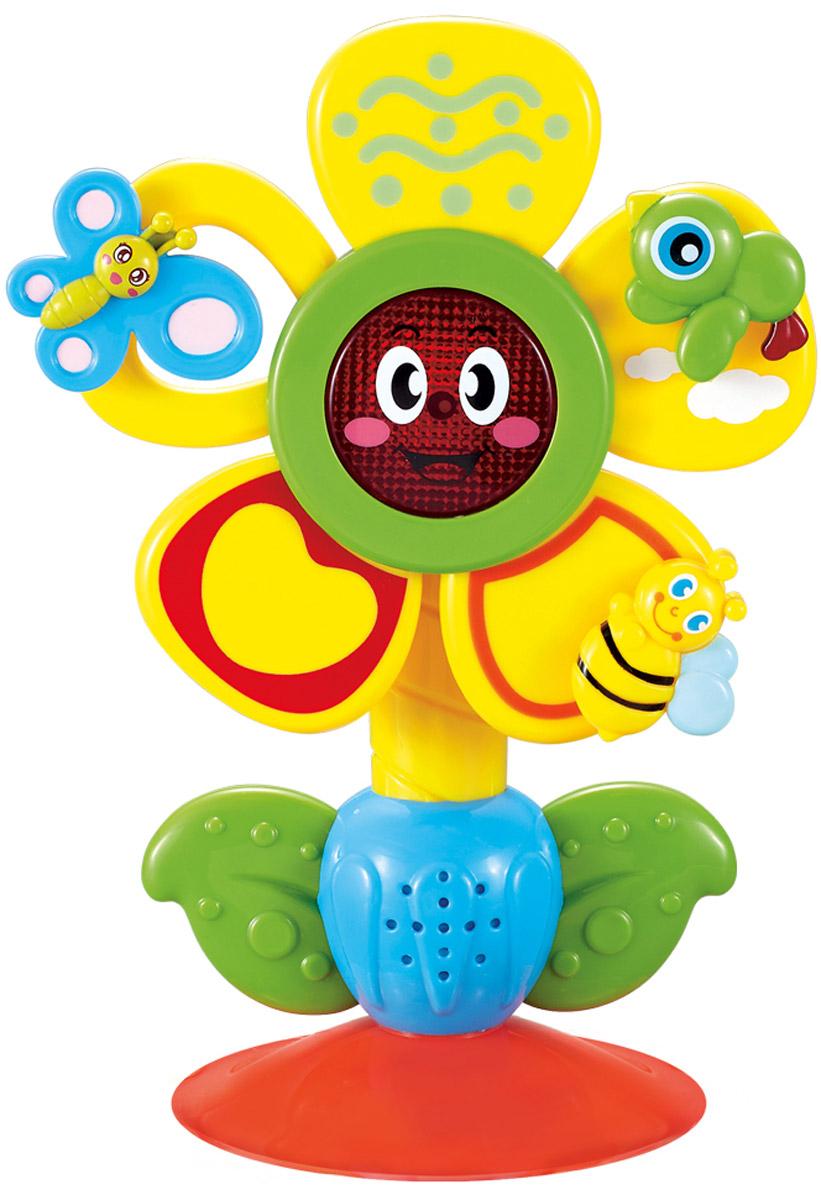Happy Baby Музыкальная игрушка Fun Flower на присоске330072