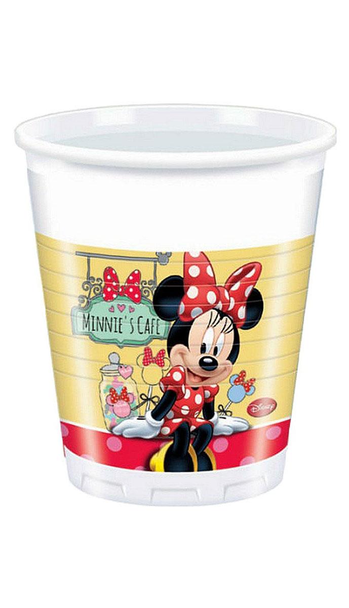 Procos Набор стаканов Кафе Минни 200 мл 8 шт82672Пластиковые стаканы Procos Кафе Минни - незаменимый аксессуар для вечеринки в стиле студии Disney. Перенеситесь во время праздника выпить чашечку кофе с Минни Маус и попробовать ее пирожные. Преимущество одноразовых стаканов - несомненно, их безопасность. Даже если маленькие гости уронят их, никто не порежется. Кроме того, одноразовая посуда существенно облегчит уборку после торжества: ее не нужно мыть. Изготовлены из безопасных, нетоксичных материалов, прошли сертификацию на европейском уровне.