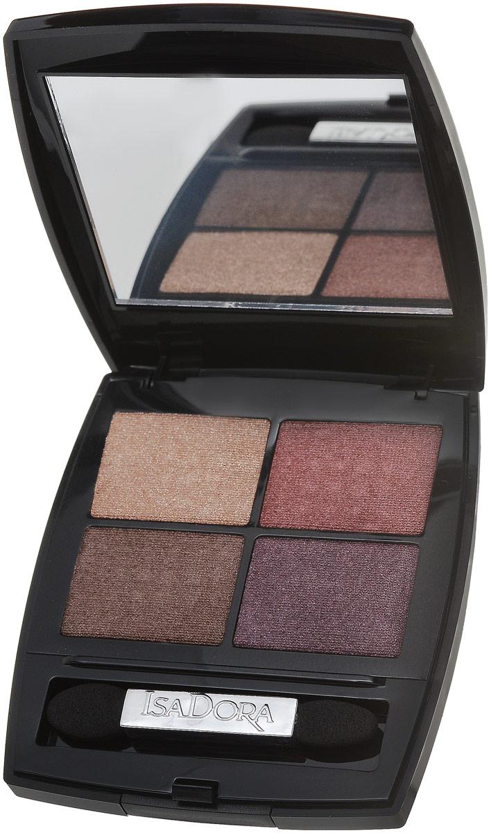 Isa Dora Isadora тени для век Eye shadow quartet 11 5 гр