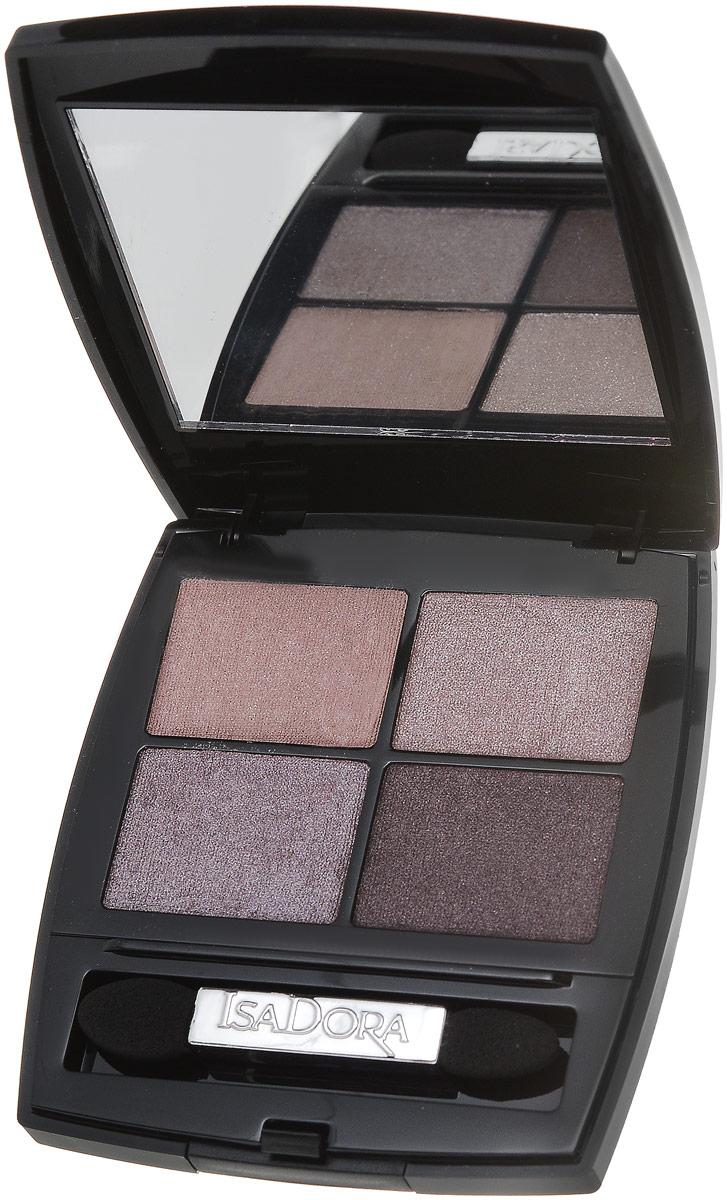 Isa Dora Isadora тени для век Eye shadow quartet 10 5 гр