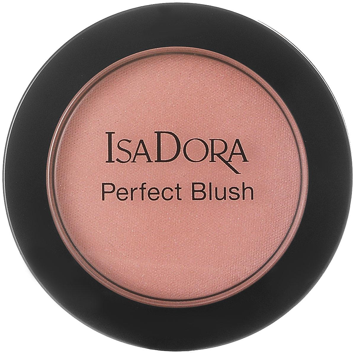Isadora румяна Perfect blush 58 4,5гр214058Нежные бархатистые румяна, устойчивые, насыщенная пигментами текстура, матовые и сияющие оттенки. Без отдушек. Клинически тестировано.