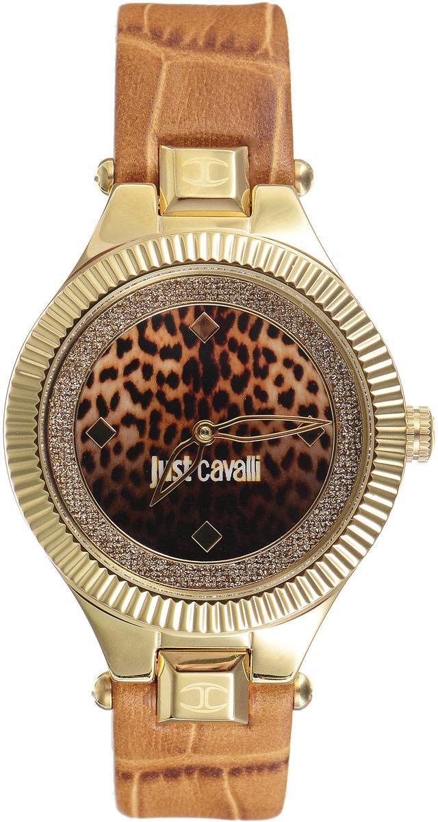 Наручные часы женские Just Cavalli Just Indie, цвет: коричневый, золотой. R7251215502R7251215502Стильные женские часы Just Cavalli изготовлены из нержавеющей стали. Кожаный ремешок оснащен классической застежкой-пряжкой. Точный кварцевый механизм имеет степень влагозащиты равную 3 Bar и дополнен часовой и минутной стрелками. Циферблат украшен блестками. Для того чтобы защитить циферблат от повреждений в часах используется высокопрочное минеральное стекло. Изделие упаковано в фирменную коробку. Часы Just Cavalli отличаются современным уникальным дизайном, идеальными пропорциями в сочетании с прекрасными материалами и техническими характеристиками.