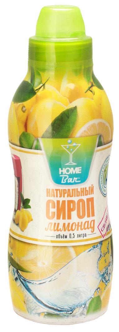 Home Bar Лимонад натуральный сироп, 0,5 л
