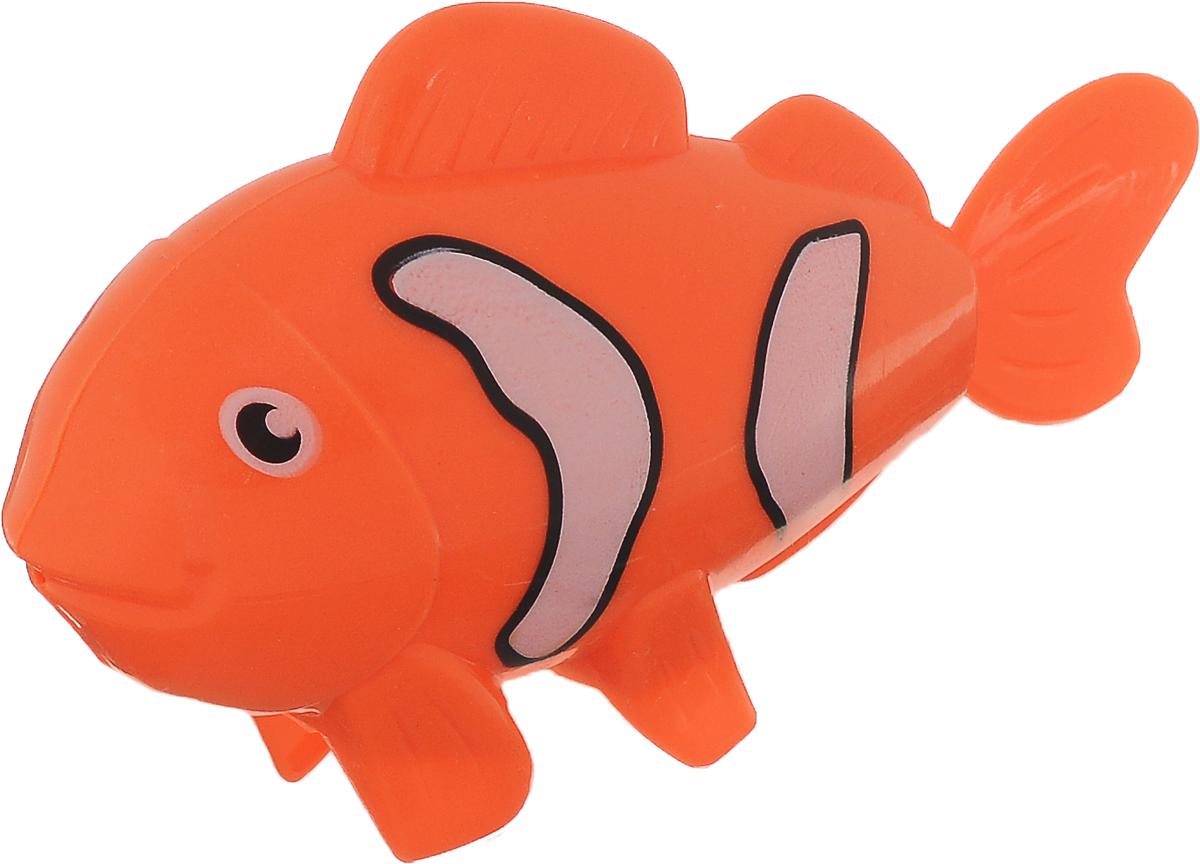 Умка Заводная игрушка Рыбка цвет оранжевый