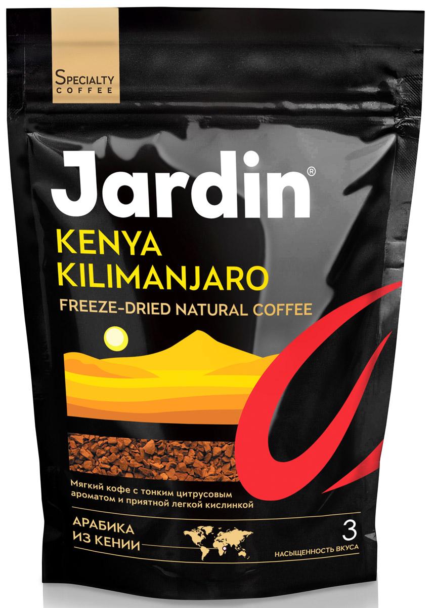 Jardin Kenya Kilimanjaro кофе растворимый, 150 г (м/у)1018-14Растворимый кофе Jardin Kenya Kilimanjaro обладает тонким цитрусовым ароматом и сладким ягодным послевкусием. Это один из самых интересных видов Арабики, произрастающей в Кении.