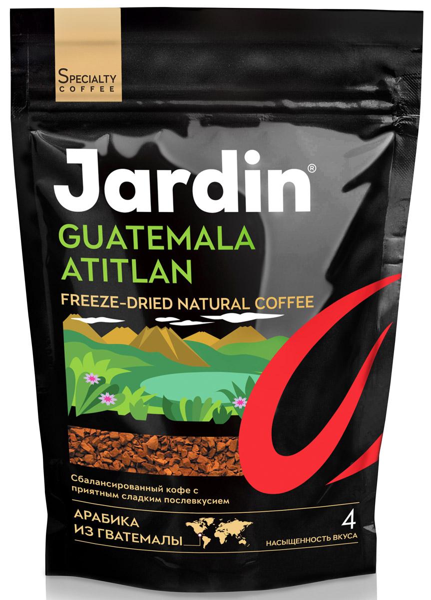 Jardin Guatemala Atitlan кофе растворимый, 150 г1016-14-НJardin Guatemala Atitlan - это мягкий, полный, со сладкими нотами во вкусе растворимый кофе высшего качества.