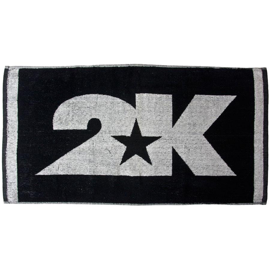 Полотенце 2K Sport Bari, цвет: черный, белый, 40х80 см. 115804
