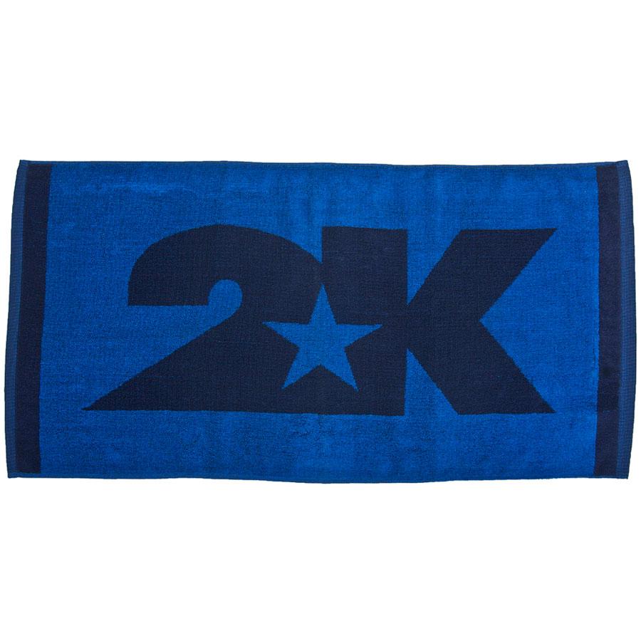 Полотенце 2K Sport Lucca, цвет: темно-синий, синий, 40х80 см. 115806