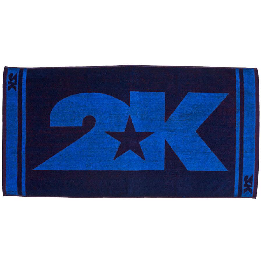 Полотенце 2K Sport Barri, цвет: темно-синий, синий, 60х120 см. 115904