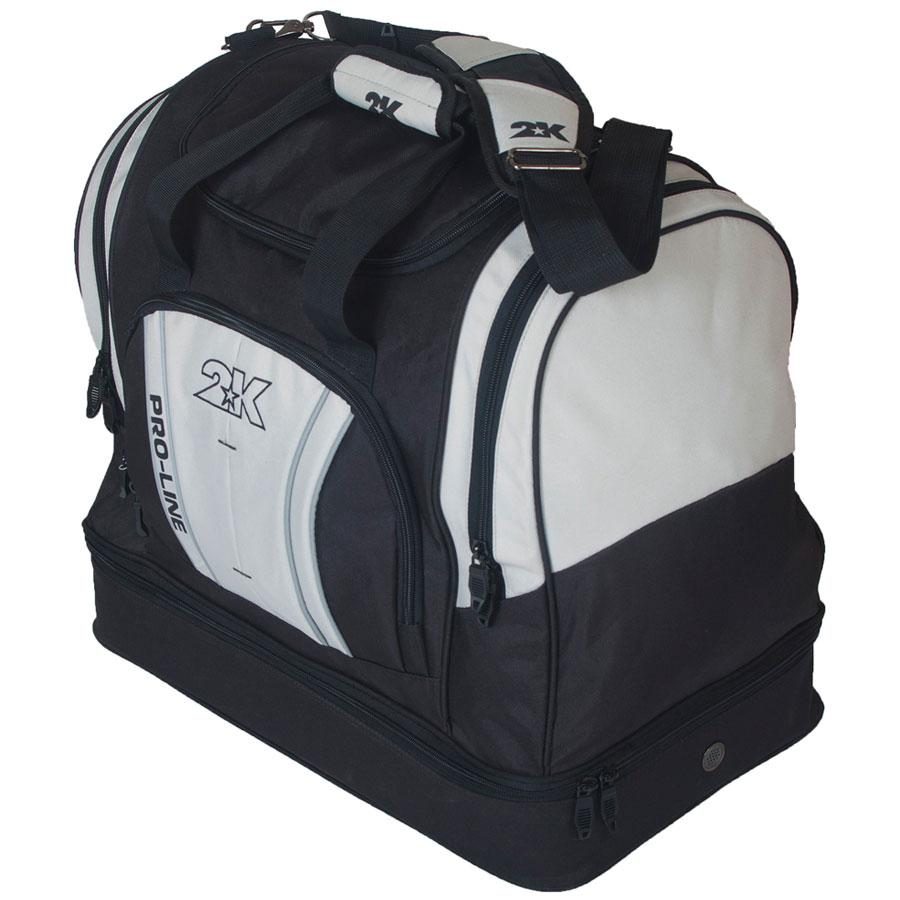Сумка спортивная 2K Sport Tampa, цвет: черный, серый. 128124128124-black-greyСпортивная сумка с двойным дном для обуви 2K Sport Tampa. Можно переносить в руке и на плече. Размер: 50х30х43 см. (ДхШхВ). Отстегивающийся ремень.