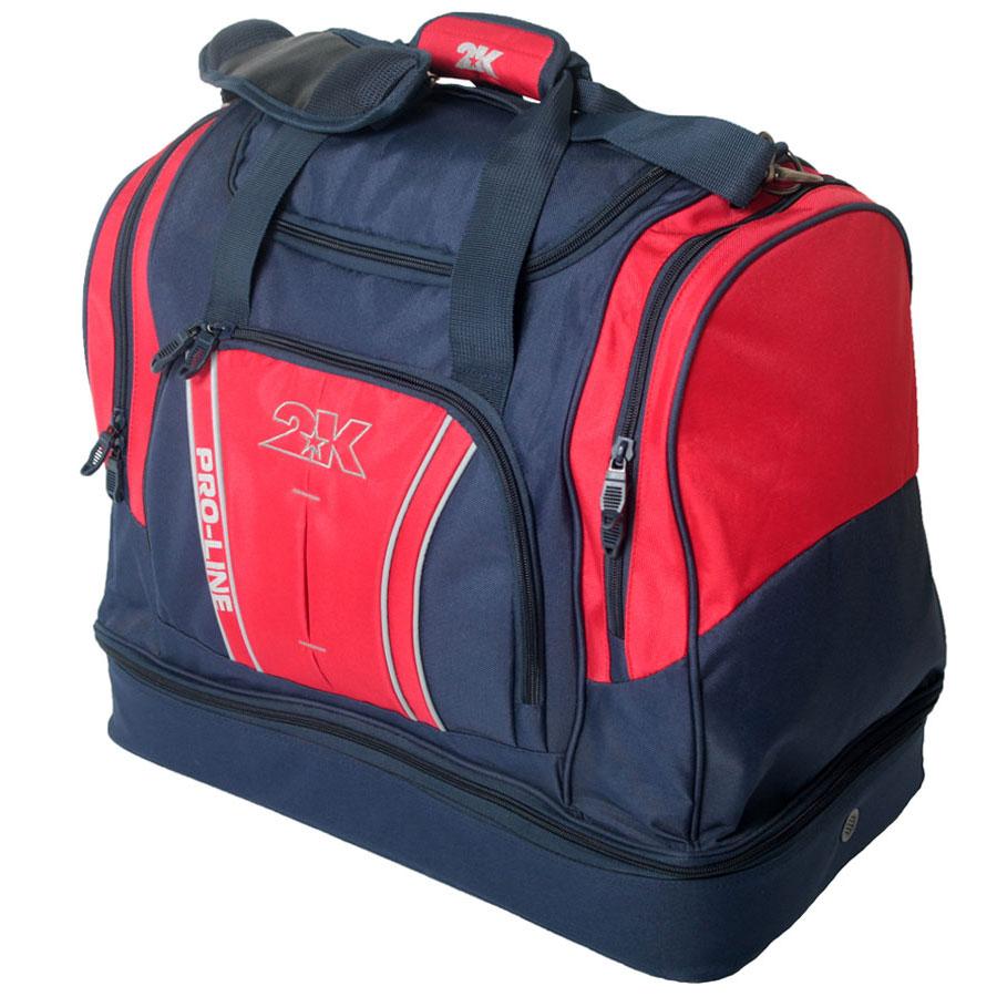 Сумка спортивная 2K Sport Tampa, цвет: темно-синий, красный. 128124128124-navy-redСпортивная сумка с двойным дном для обуви 2K Sport Tampa. Можно переносить в руке и на плече. Размер: 50х30х43 см. (ДхШхВ). Отстегивающийся ремень.