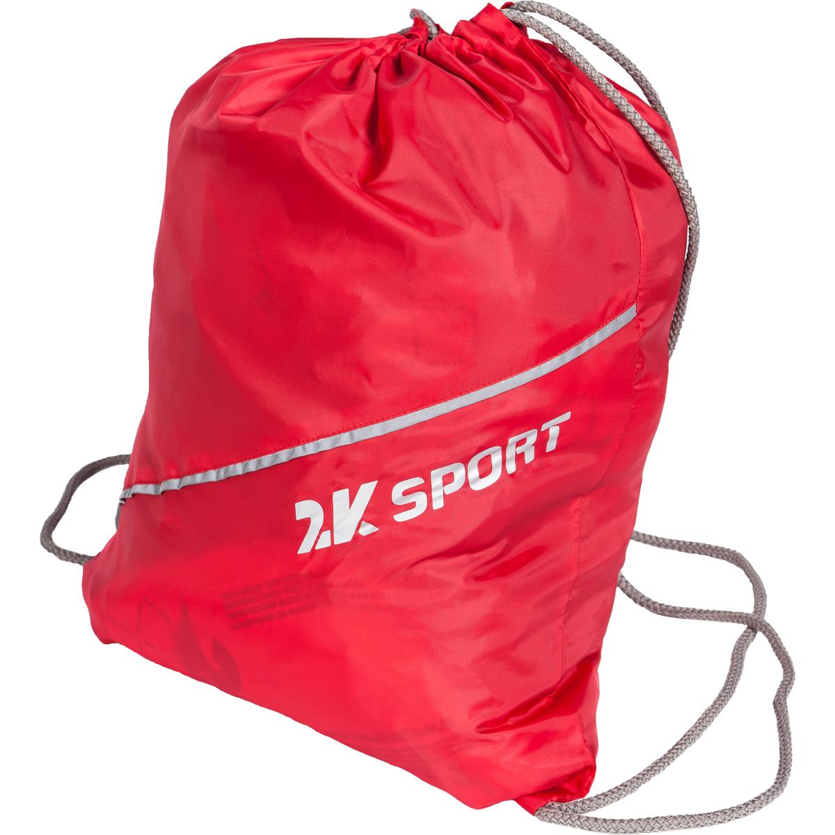Сумка-мешок для обуви 2K Sport Team, цвет: красный128136-redМешок для обуви 2K Sport Team изготовлен из высококачественного прочного текстиля. Мешок имеет одно отделение, закрывающееся стягивающимся шнуром. Плотная прочная ткань надежно защитит обувь от непогоды, а удобные петли шнура позволят носить мешок как в руках, так и за спиной.
