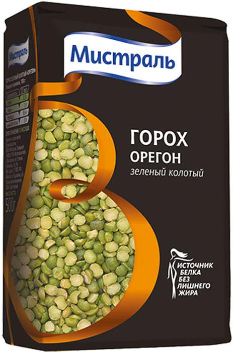 """Горох зеленый колотый """"Орегон""""не требует замачивания и быстро разваривается. Горох """"Айдахо"""" зеленый горох имеет сладковатый вкус и нежную текстуру. Идеально подходит зеленый горох используется в супах и соусах. Способ приготовления: 1. Поместите промытый горох в кастрюлю с водой в соотношении 1:2, доведите до кипения. 2. После закипания варите зеленый горох до готовности 30-40 минут на слабом огне. Приятного аппетита!"""