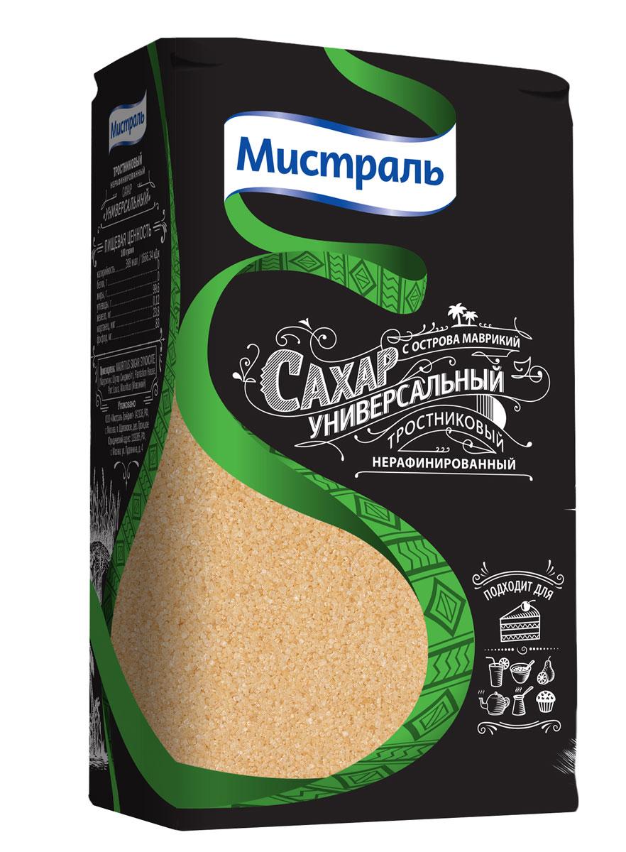Мистраль Сахар коричневый Универсальный, 1 кг