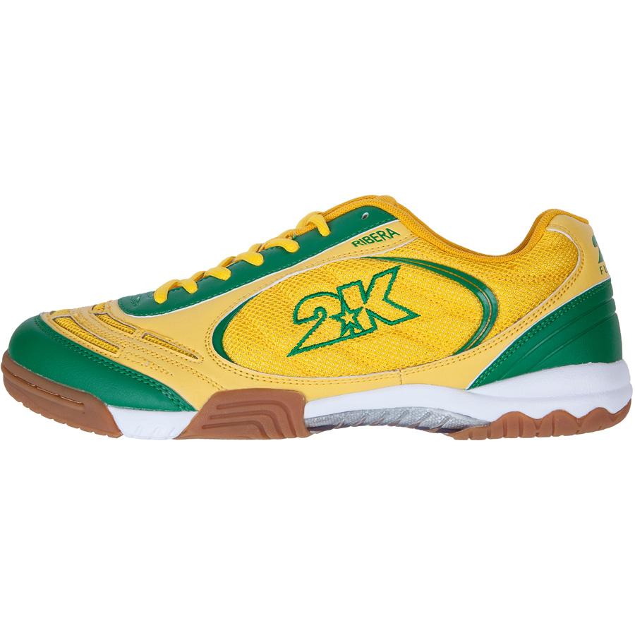 """Кеды 2K Sport """"Ribera"""", цвет: желтый, зеленый. Размер 41 125415-yellow-green"""