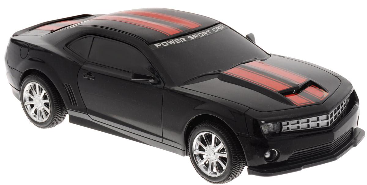 Junfa Toys Машинка инерционная Racing цвет черный7754A_черныйИнерционная машинка Junfa Toys Racing, выполненная из безопасного пластика, станет любимой игрушкой вашего ребенка. Игрушка представляет собой уменьшенную копию гоночного автомобиля со световыми и звуковыми эффектами. Игрушка оснащена инерционным механизмом. Достаточно немного подтолкнуть ее назад или вперед, а затем отпустить, и машинка сама поедет в том же направлении. Световые и звуковые эффекты включаются при надавливании на капот машинки. Ваш ребенок будет увлеченно играть с этой машинкой, придумывая различные истории. Порадуйте его таким замечательным подарком! Для работы игрушки необходимы 3 батарейки типа LR44 (AG13)(товар комплектуется демонстрационными).