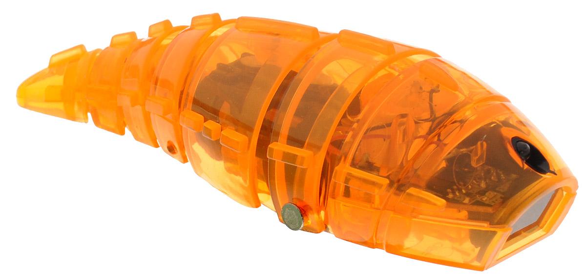Pilotage Микро-робот Larva цвет оранжевыйRC24873Микро-робот Pilotage Larva, управляемый с помощью инфокрасного датчика, за одну секунду может преодолевать большое расстояние! Ларва по своему внешнему виду напоминает личинку. Она очень плавно скользит по поверхности, при этом её хвост совершает движения из стороны в сторону. Благодаря инфракрасному датчику, расположенному в передней части корпуса, Ларва не сталкивается с препятствиями на своем пути, а избегает их. Если на ее пути встречается препятствие, Ларва плавно и грациозно развернется и быстро продолжит свой путь в другом направлении. Микро-робот работает от 3 батареек типа AG13 (входят в набор).