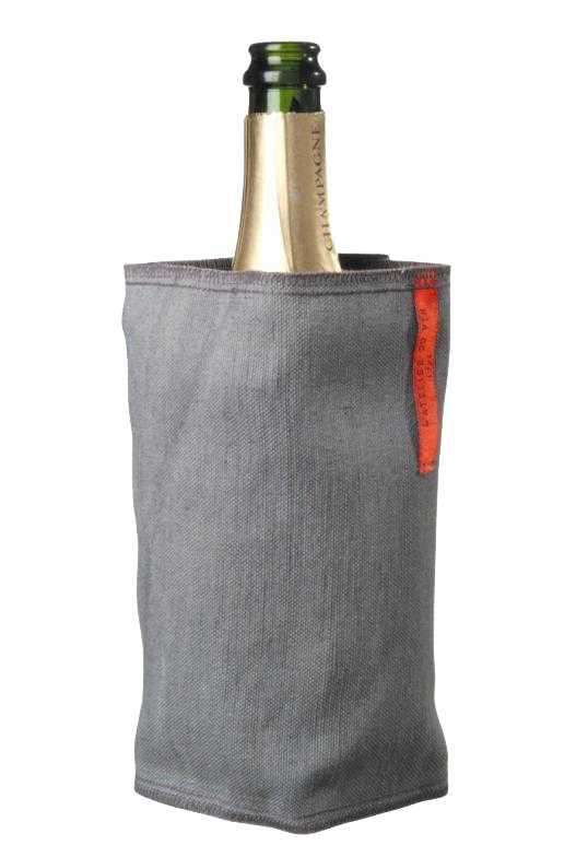 Охлаждающий чехол для бутылки LATELIER DU VIN Фреш Грей Линен95209