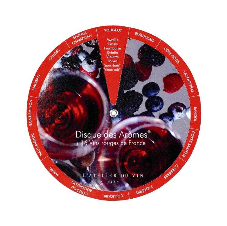Диск винных ароматов LATELIER DU VIN, на английском языке56716