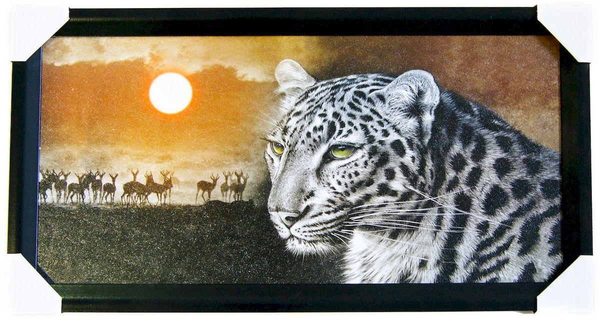 Картина в раме Proffi Home Сафари, 33 х 70 смВ954Картина Proffi Home поможет украсить интерьер. Картина оформлена в красивую деревянную рамку черного цвета. Фотопечать на бумажном постере с тиснением. Металлические петли, винты для подвешивания картины в комплекте. Размер картины: 33 х 70 см.