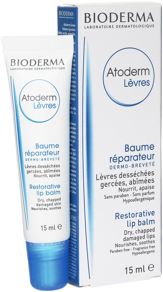 Bioderma Бальзам для губ Atoderm, 15 мл028095IВосстанавливает, питает и защищает нежную кожу губ. Делает губы мягкими и нежными. Мгновенно успокаивает. Высокая переносимость.
