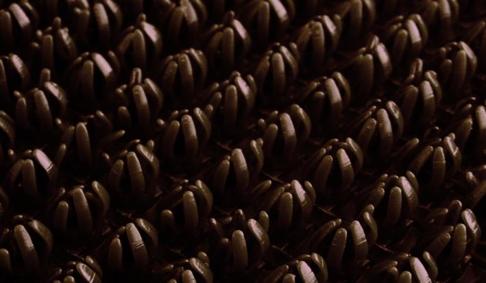 Щетинистое покрытие SunStep, цвет: темно-коричневый, 0,90 х 15 м75-137Щетинистое покрытие 0,90х15 м, Темно-Коричневый, SUNSTEP™