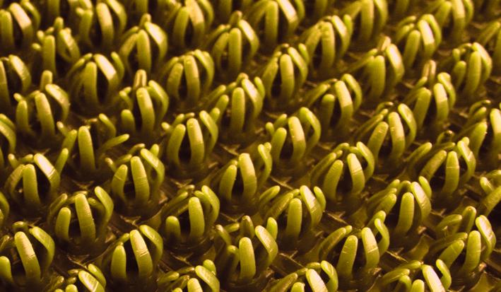 Щетинистое покрытие SunStep, цвет: золотой, 0,90 х 15 м75-188Щетинистое покрытие 0,90х15 м, Золотой, SUNSTEP™