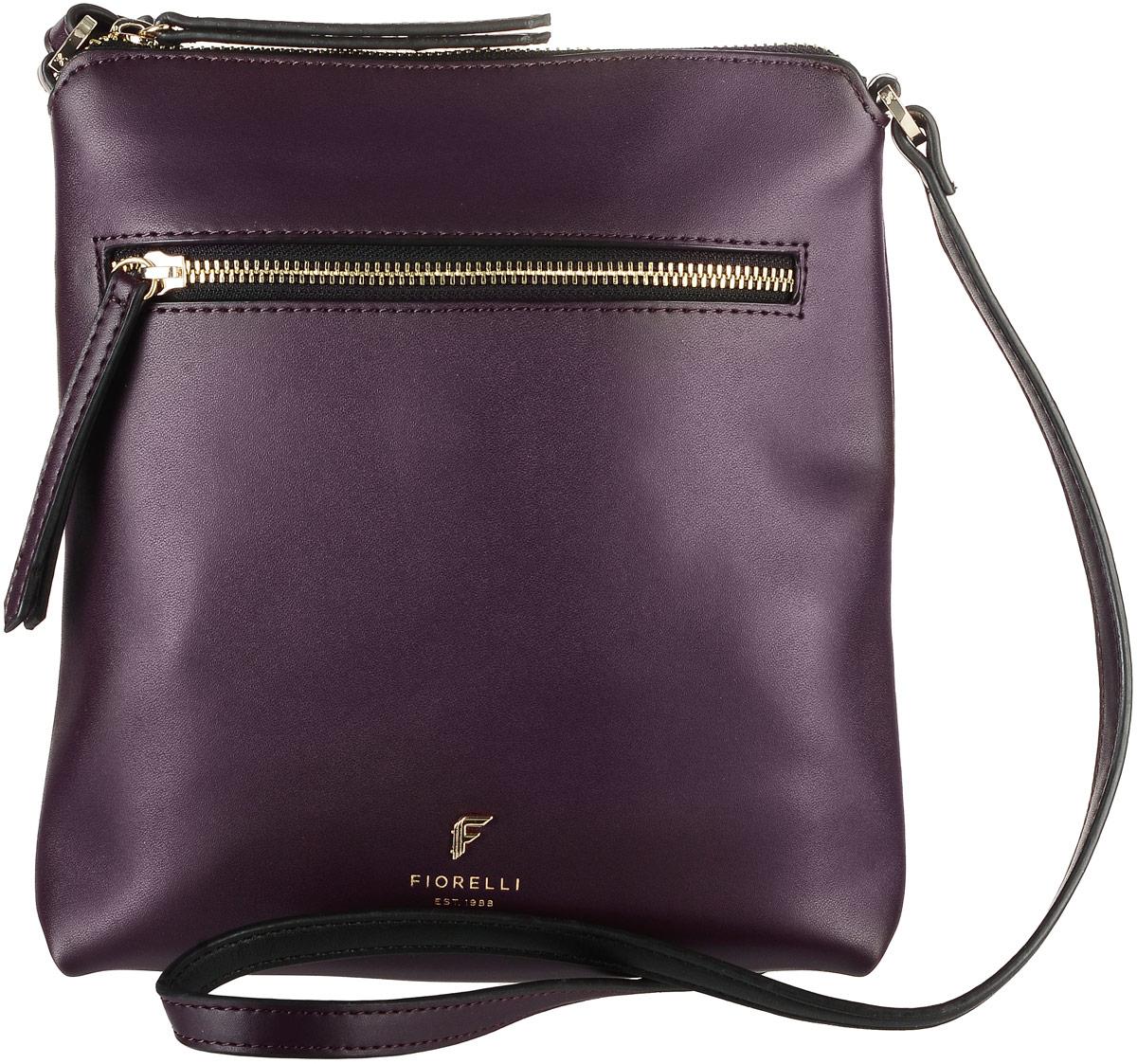 Сумка женская Fiorelli, цвет: сливовый. 8509 FH8509 FH AubergineСтильная женская сумка Fiorelli выполнена из эко-кожи. Сумка имеет одно основное отделение, закрывающееся на застежку-молнию. Внутри находится накладной открытый карман. Снаружи, на передней стенке размещен прорезной карман на застежке-молнии, на задней стенке накладной открытый карман. Роскошная сумка внесет элегантные нотки в ваш образ и подчеркнет ваше отменное чувство стиля.