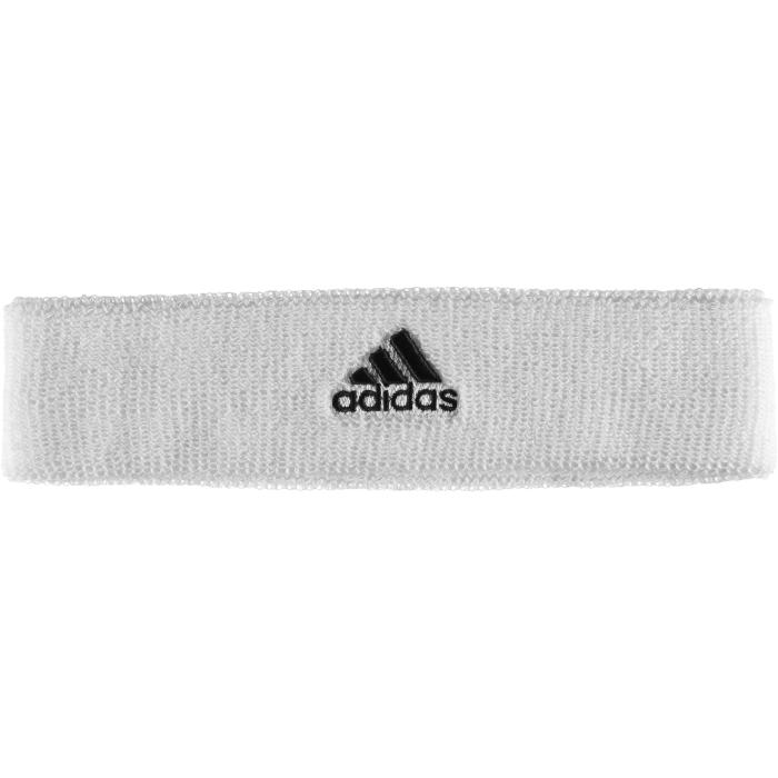Повязка на голову для тенниса Adidas TEN Headband, цвет: белый. S22006. Размер 54/55