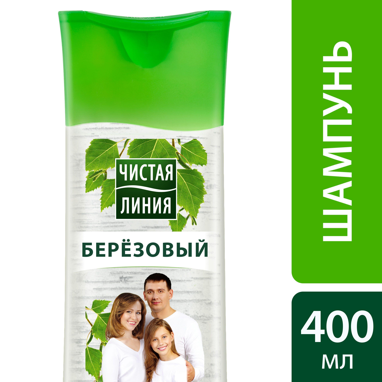 Чистая Линия Шампунь для всей семьи Березовый 400 мл