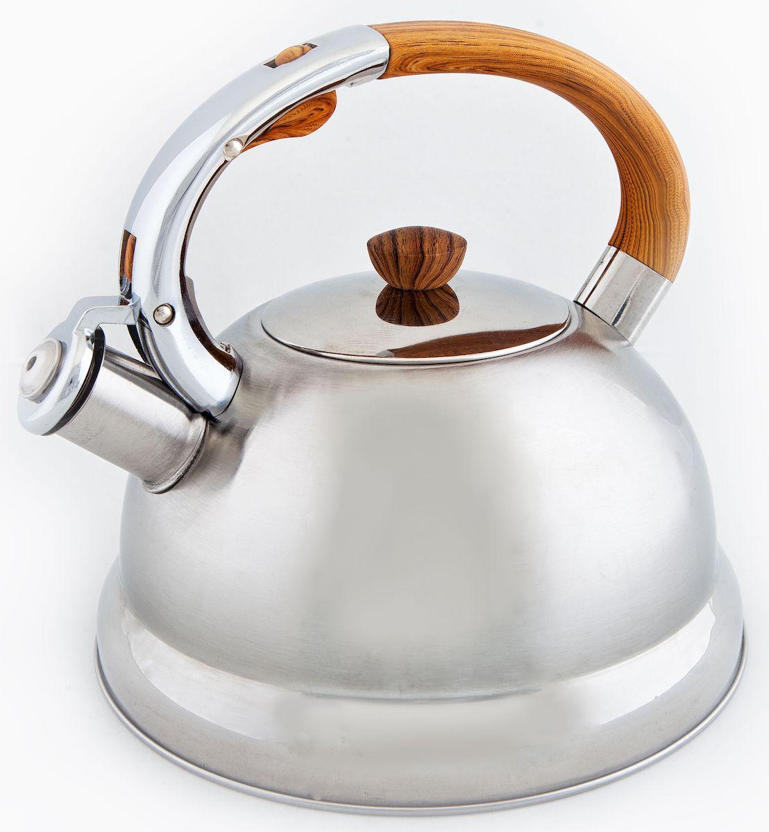 Чайник Hoffmann, со свистком, 3 л. НМ 5516НМ 5516