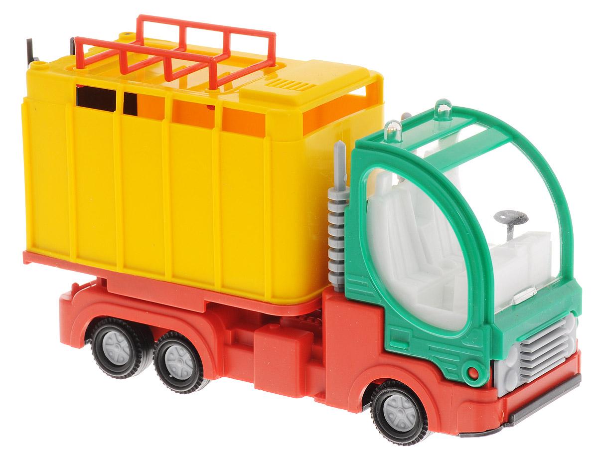 Форма Малый фургон цвет желтый зеленыйС-41-Ф_кузов желтый,кабина зеленаяФорма Малый фургон станет главным развлечением вашего малыша. Кабина машины откидывается вперед, задние двери открываются, можно даже открыть и посмотреть моторный отсек. Игрушка создана из материала высокого качества, ее дизайн действительно напоминает очертания реальных фургонов с достаточно высокой детализацией. Такая удобная и компактная машинка обязательно порадует вашего малыша и станет замечательным подаркам для юного покорителя дорог.